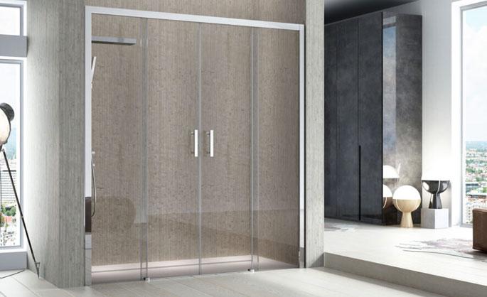 Aluminios Tecnoal - Mampara de baño p